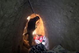 Islamic State built network of tunnels under Iraq's Sinjar