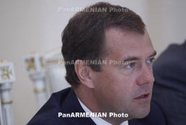 Մեդվեդևը հանձնարարել է ՌԴ կառավարությանը 2 օրում պատասխան միջոցներ մշակել Թուրքիայի դեմ