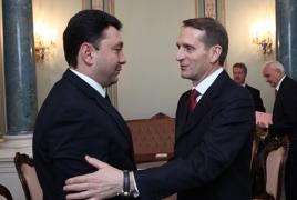 Armenia hails Duma draft bill banning Genocide denial: vise-speaker