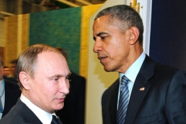 Obama, Putin meet on sidelines of Paris climate talk