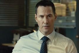 Keanu Reeves as detective in