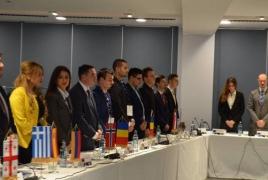 «Европейские студенты-демократы» осудили Геноцид армян: Отрицание этого факта Турцией порождает новые преступления