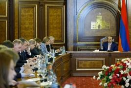 Prime Minister, Ambassador Switalski talk EU-Armenia ties