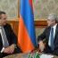 President Sargsyan, Greek Defense Minister talk military cooperation