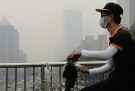 Hazardous smog sparks red alerts in 10 Chinese cities