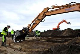 Norwegian archaeologists unearth Iron Age Viking settlement