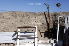 Azeri ceasefire violations continue on the night of Dec 24-25