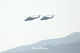 Russian airbase in Armenia starts flight inspection of combat helicopters
