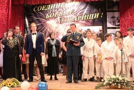 Торжественный концерт, солдатская каша и показательный бой: Российская военная база в Армении отмечает 74-летие