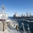 U.S. says Iran carried out rocket tests near American warships