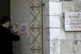 New act of vandalism targets Armenian cemetery in Jerusalem
