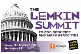 Washington to host Lemkin Summit on genocide