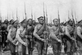 Russian troops massacre by Caucasian Tatars