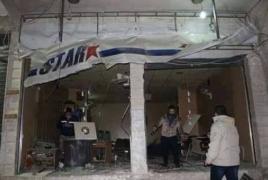 Twin bomb blasts rip through Syria's Qamishli, kill three