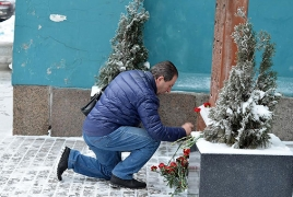 В Санкт-Петербурге почтили память жертв погромов армян в Баку 1990 года
