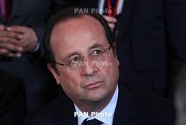 France's Hollande calls on U.S. to end Cuba sanctions