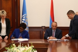 Armenia, World Bank ink $55 mln loan agreement