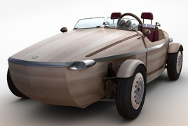 Toyota to unveil electric car made of wood
