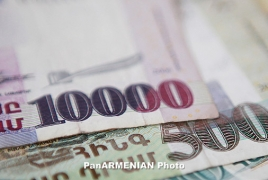 Net inflow of Armenia's remittances down by 20% in 2015: report