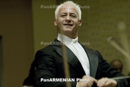 Vladimir Spivakov, Moscow Virtuosi to perform in Yerevan Apr 28-29
