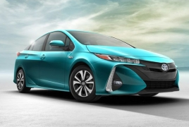 Toyota unwraps Prius Prime, the plug-in hybrid version of Prius