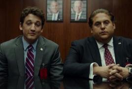 "Jonah Hill, Miles Teller as arm dealers in ""War Dogs"" trailer"