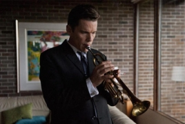 "Review: Ethan Hawke terrific as Jazz great Chet Baker in ""Born to Be Blue"""