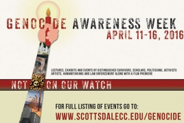 Scottsdale to host Genocide Awareness Week Apr 11-16