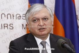 Налбандян рассказал Уорлику о продолжающихся провокациях Баку и попытках подорвать мирный процесс