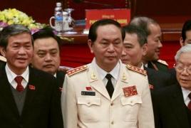 Vietnam parliament swears in head of internal security agency as president