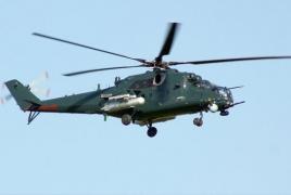 Минобороны РА: Уничтоженный азербайджанский вертолет принадлежал семейству Ми-24/35