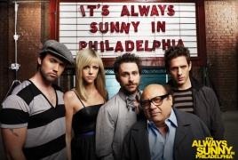 """It's Always Sunny in Philadelphia"" to break record with 2-season renewal"