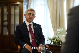 President Sargsyan to chair Security Council meeting over Artsakh