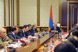 Президент Армении: Потери армянской стороны – 18 погибших, около 35 раненых