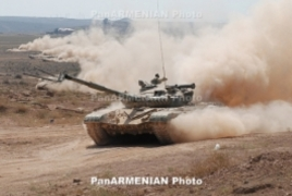 One Armenian, three Azerbaijani tanks destroyed north of contact line