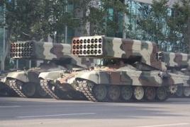 Armenia neutralizes Azerbaijani TOS-1 multiple rocket launcher
