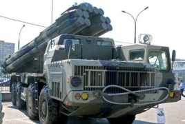 Azerbaijan uses Smerch multiple rocket launchers in Karabakh violence