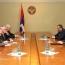 Глава НКР на встрече с МГ ОБСЕ: Вероломная агрессия Баку – одна из самых больших угроз для мира на Южном Кавказе