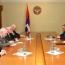 Karabakh President urges Minsk Group to curb Baku's violence