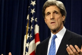 Kerry meets top Iraqi officials in Baghdad, discusses IS fight