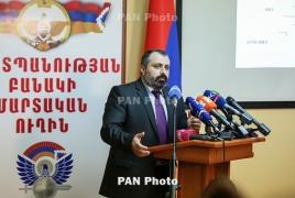 Бабаян: Азербайджанский беспилотник над Степанакертом во время визита сопредседателей МГ ОБСЕ - комбинация терроризма и идиотизма