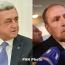 Серж Саргсян обдсудил ситуацию в Нагорном Карабахе с первым президентом Левоном Тер-Петросяном