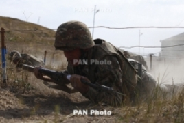 Azerbaijan uses mortar, howitzer in breach of ceasefire deal