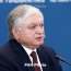 Foreign Minister talks relations with Russia, Karabakh violence