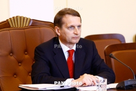 Russia parliament speaker urges action to prevent Genocide recurrence