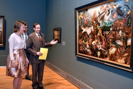 "Belgium Royal Museums of Fine Arts hosts ""From Floris to Rubens"" exhibit"