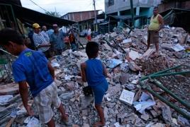 Ecuador earthquake death toll soars to 413