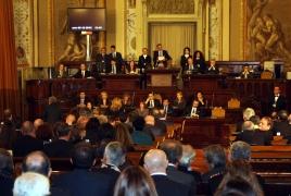 Sicily regional parliament recognizes Armenian Genocide