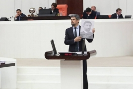 Armenian MP commemorates Genocide in Turkey's parliament