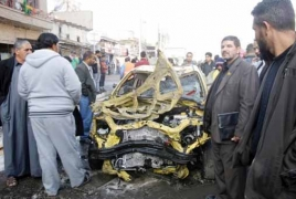 Islamic State suicide bomb attack kills 9 at Baghdad mosque